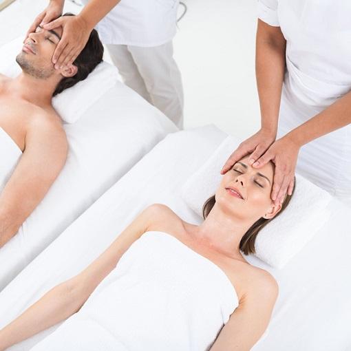 Massaggio di coppia nella Grotta di Sale