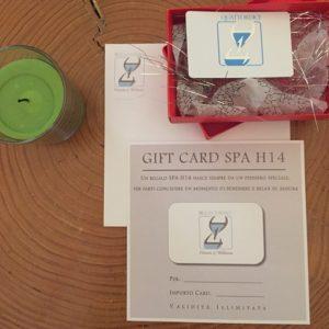 Gift Card SPA H14 €100