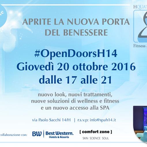 #OpenDoorsH14