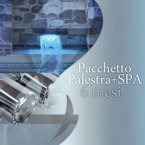Pacchetto Palestra + SPA 6 mesi