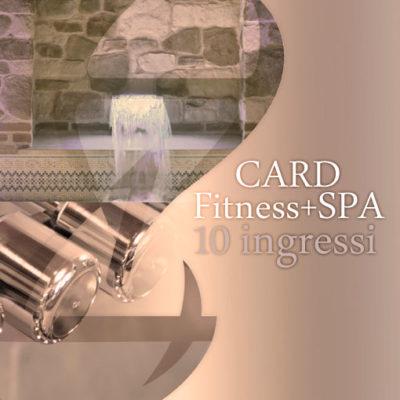 Card SPA&Fitness 10 ingressi